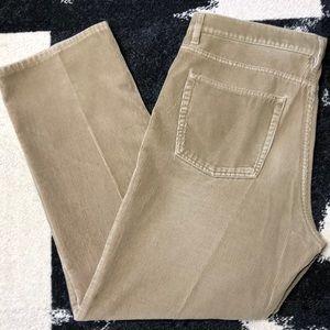 Loro Piana Men's Tasche 5-Pocket Corduroy Pants